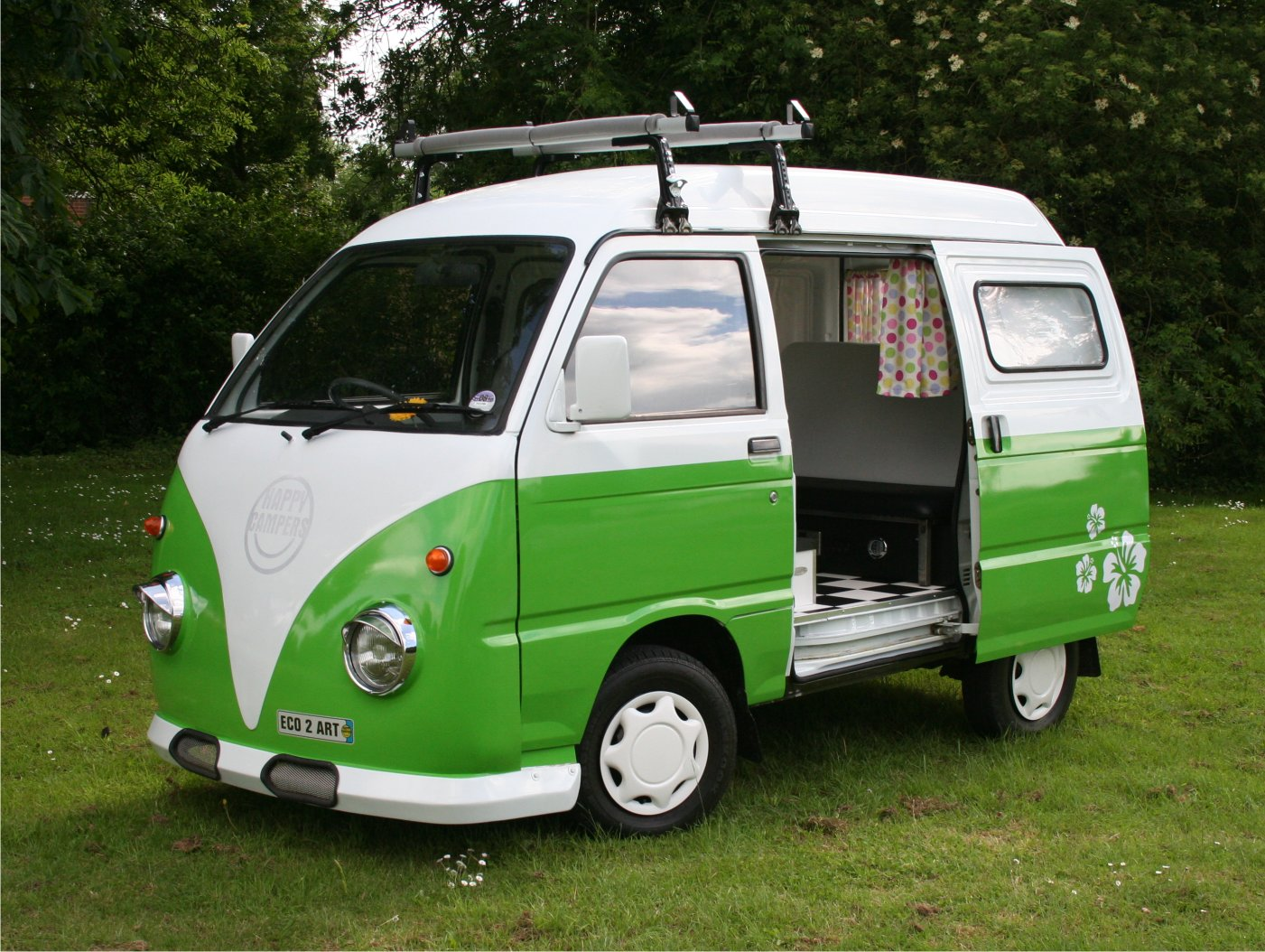 Hijet Based Happy Camper Vans For Sale Daihatsu Drivers