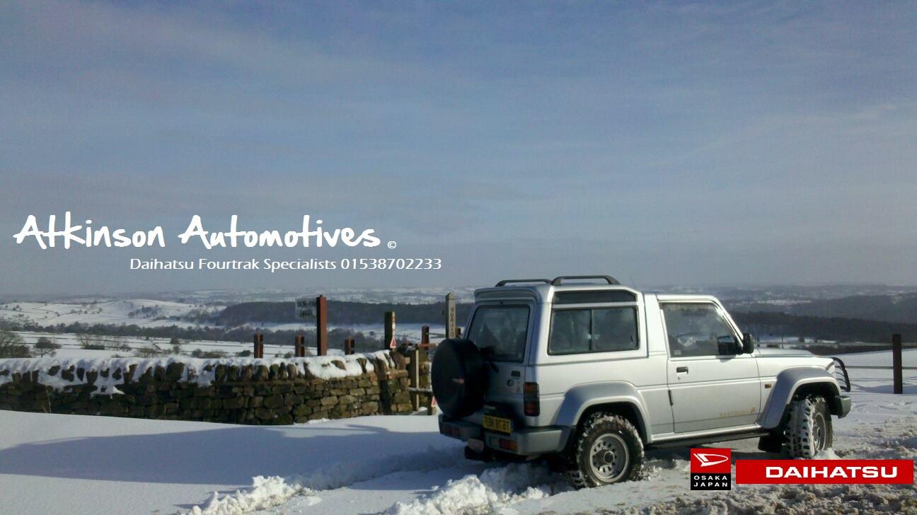 Atkinson Automotives Daihatsu Fourtrak Specialists