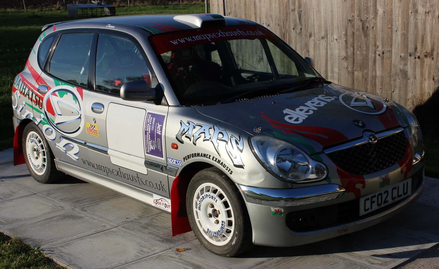 Sirion Rally 2 World Rally Car | Daihatsu Drivers Club UK
