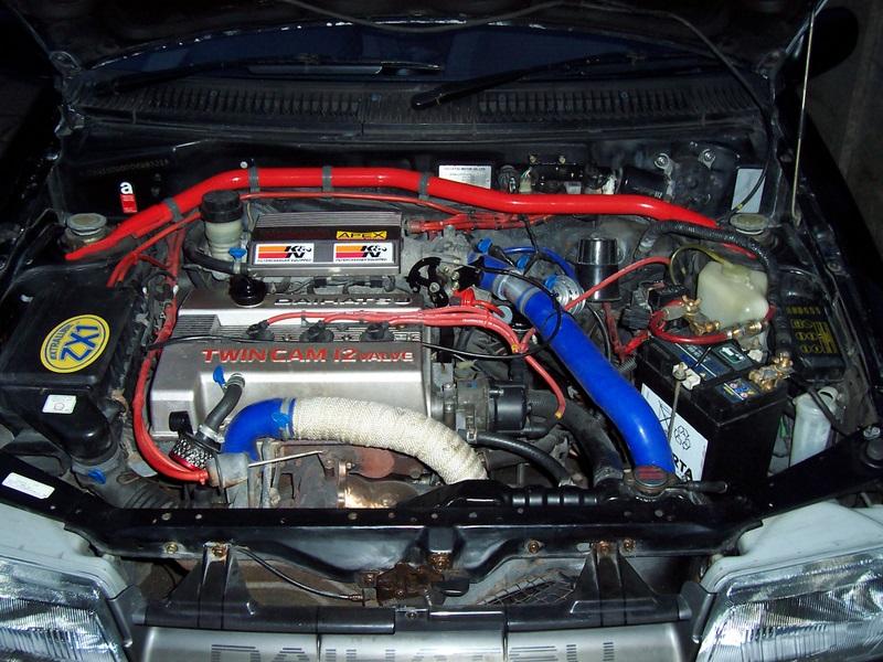 Engine Swap Cost >> 1991 Charade GTti engine bay | Daihatsu Drivers Club UK