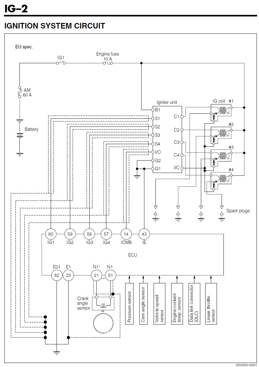 igniter unit on k3 engine as per the ingnition system ... daihatsu fourtrak wiring diagram daihatsu ac wiring diagram
