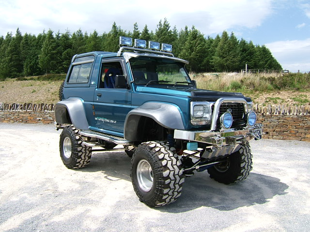 hows this for a modified fourtrak