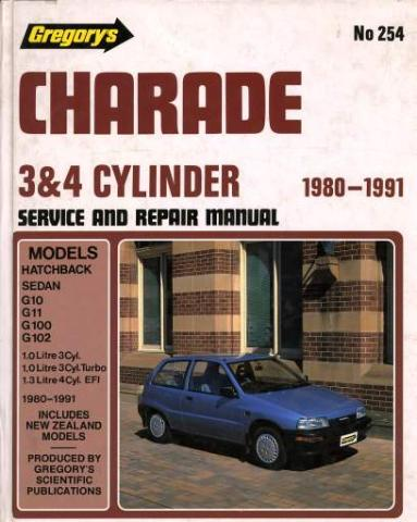 workshop manual charade '80 - '91